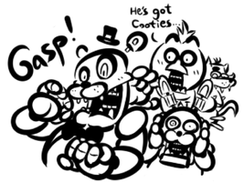 FNAF Doodle: The Real Horror by JamesmanTheRegenold