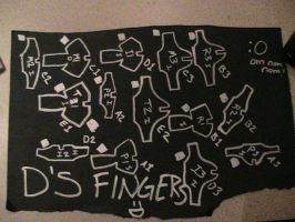 D's Finger Plates - Patterns by LaylaPathos