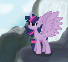 Alicorn Twilight by Vocapony