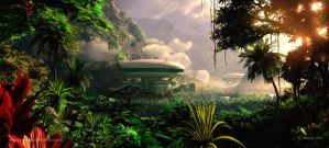 Rainforest Residence by priteeboy