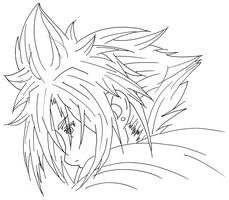 Cloud Strife: Ink by AthenrilTheThief