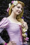 Rapunzel cosplay by Santatory