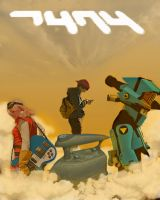 FLCL movie poster by Notason89