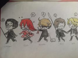 chibi Shinigami by moondrop1XD
