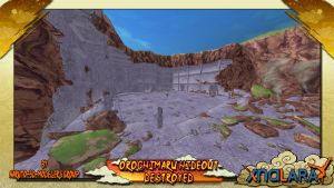 Naruto Stage-Orochimaru Hideout Destroyed FOR XPS by MVegeta