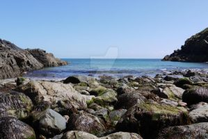 Little Beach at Cadgwith by BeanyJane