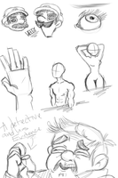 Sketches and stuff by TheKyleProductionz