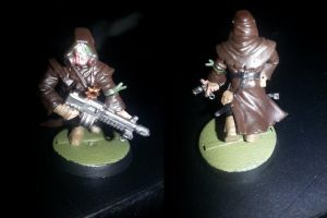 Chaos Cultist Sergeant by demoncloak89