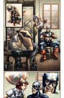 Captain America 616 sample 01 by GRAPHIKSLAVA
