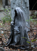 Skelly Gravemarker by LabyrinthCreations