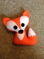 Fox by kittyandbirdycrafts