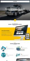 Trucking Transportation and Logistics WP Theme by pixel-industry