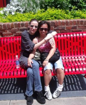 My step mother and I by Siandial