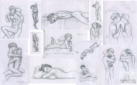 sketches by br0-Harry