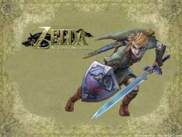 Zelda Wallpaper by bloodspeaker