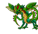 Drasecdura  armored scale Fakemon by Blueflamesprower