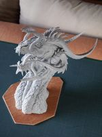 Dragon: resin with undercoat by Itsmil