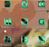 Green Icons by GreciaLondres
