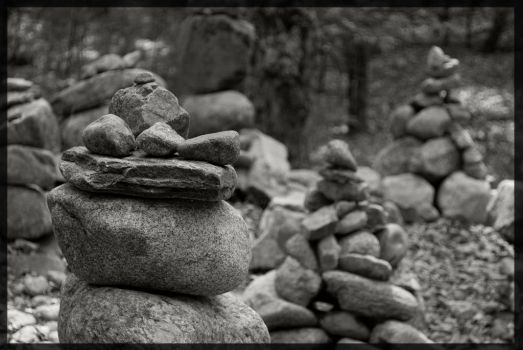 Rock Stack by FrodiusMaximus