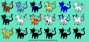 My TF OC in cat forms Part 1 by liongirl2289