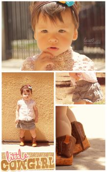Litlle Cowgirl by lauoO