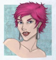 Tonks by Jo-M by HogwartsArt