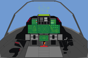 XF FA-70 panther 2 cockpit by bagera3005