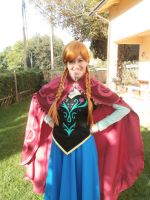 Anna cosplay ~ Lucca Comics and Games by LuXoN94