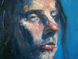 Painting study detail by Spikie
