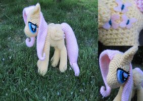 Fluttershy~ My Little Pony by NerdyKnitterDesigns