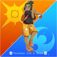 006 Hau - Sun and Moon Project by kelvin-trainerk