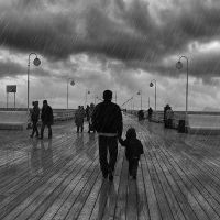 Add Dramatic Rain to a Photo in Photoshop by Designslots