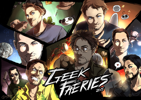 Geek Fearis - Youtubers by Dunklayth