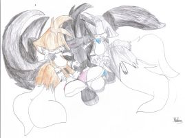 Merrick, Keding and Tails: Nap Time by RoninHunt0987