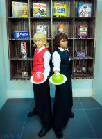 tiger and Bunny - Cake waiters 2 by lonehorizon