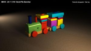 Train toy 3D by slaugthervk