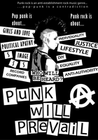 Punk Will Prevail by hood