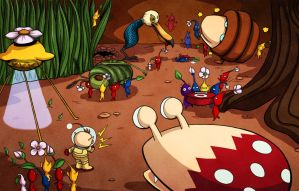 Pummel - Pikmin by Card-Queen