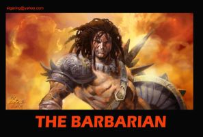 The Barbarian by elshazam