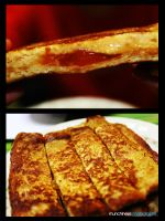 PBnJ French Toast Stick by munchinees