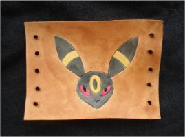 Pokemon Umbreon Leather Cuff by RebelATS