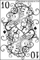 10 of spades by vasodelirium