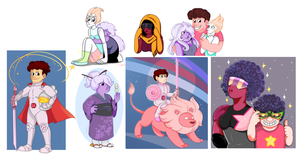 Steven universe things by Tetris-Fan