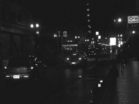 Downtown Portland at Night by ObsidianJewel
