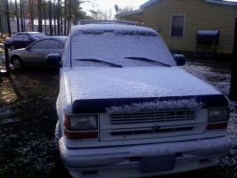 My Truck In The Snow by Proud2BMe1936