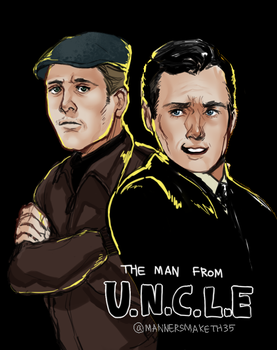 The Man from U.N.C.L.E by 35THESTRANGE