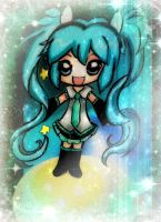 My first Miku by KawaiiDarkAngel