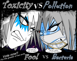 Fool VS Bacteria. by darkgrevil