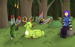 Viridian Forest Rest Stop by Chari-Artist