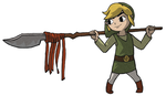 Link's New Weapon by Phantom-Kat
